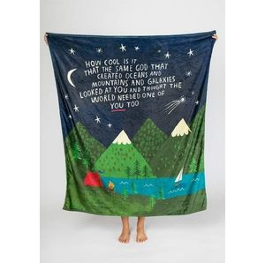Comfy cozy & inspiring blanket